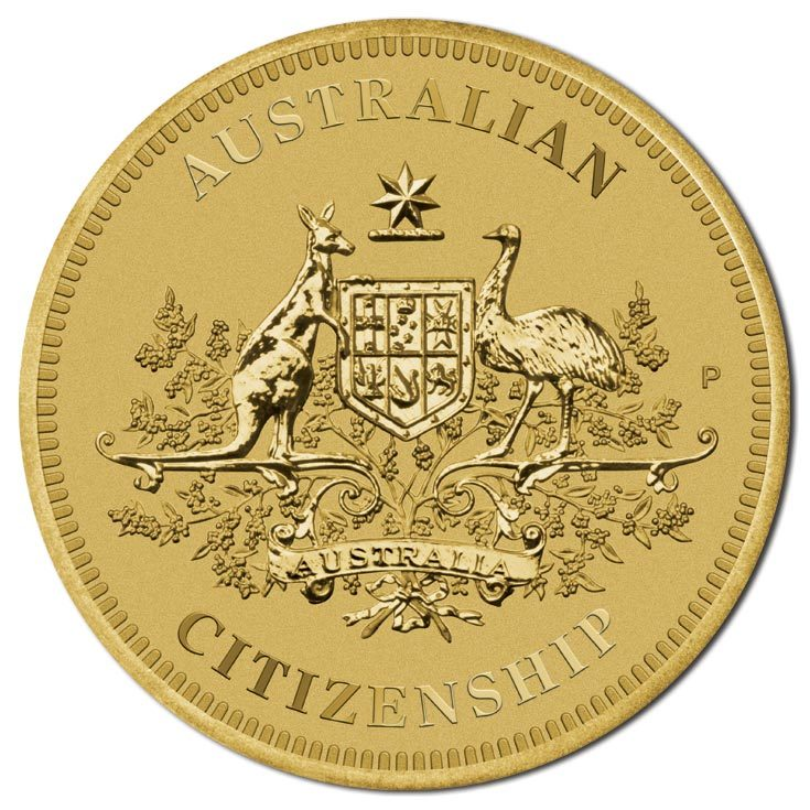 2016 $1 Australian Citizenship BU Coin