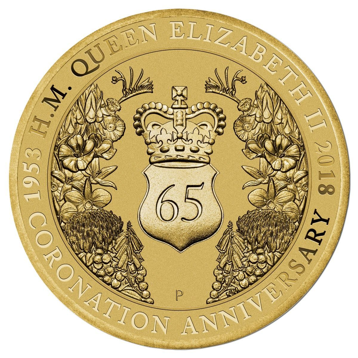 2018 $1 65th Anniversary of the Queen's Coronation PNC