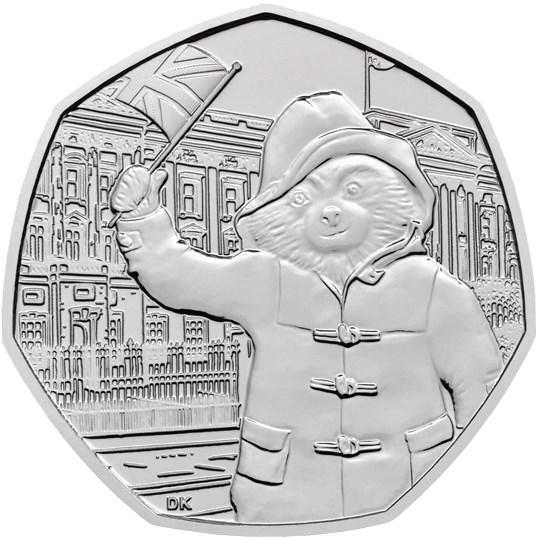 2018 UK50p Paddington at Buckingham Brilliant Unc