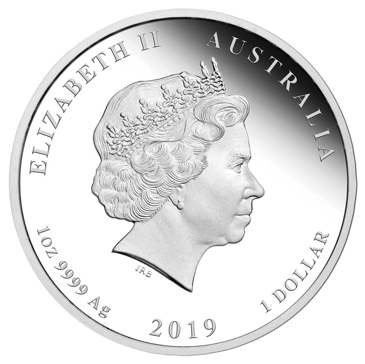 2019 Year of the Pig 1oz Silver Proof