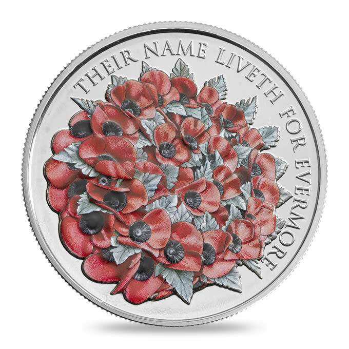 2016 The Remembrance Day Alderney £5 Brilliant Uncirculated Coin