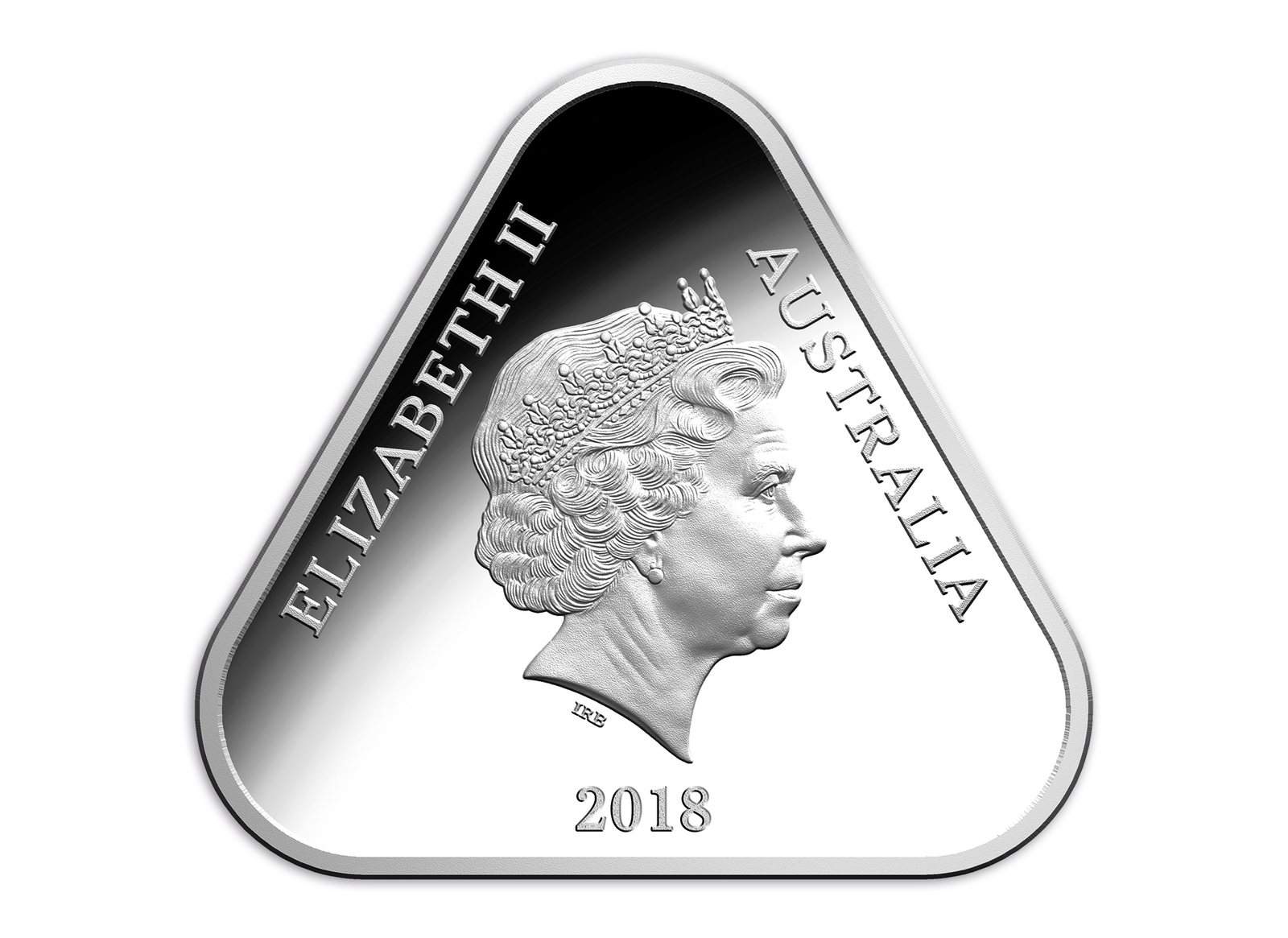 2018 $5 Tri Services Triangular Silver Proof