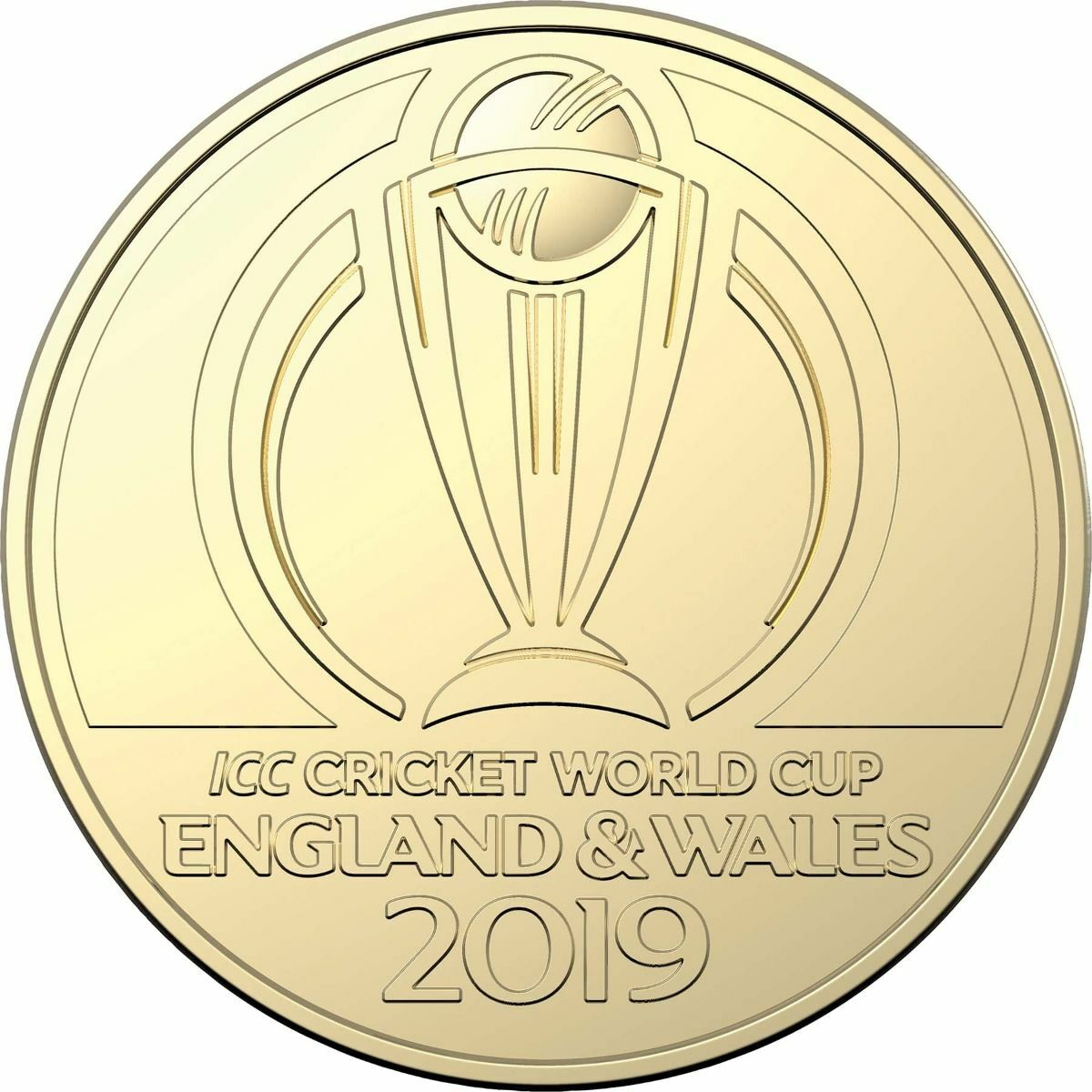 2019 $1 ICC Cricket World Cup Unc