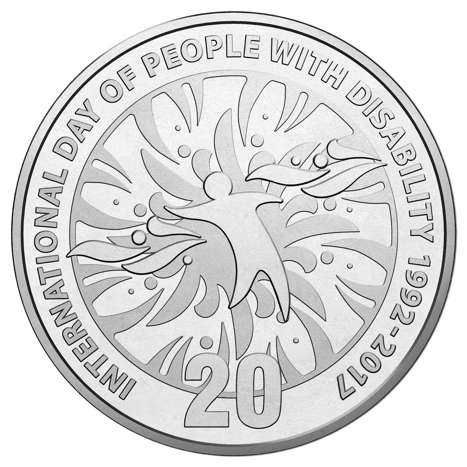 2017 20c International Day of People with Disability Unc