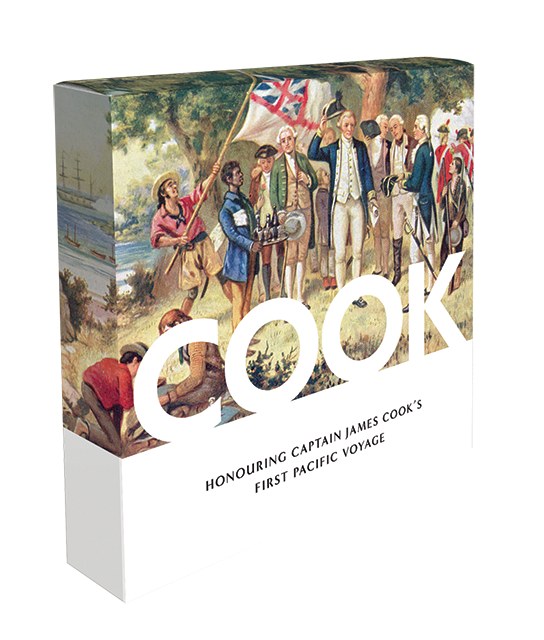 Captain Cook Gold Plated Penny 9 Coin Collection