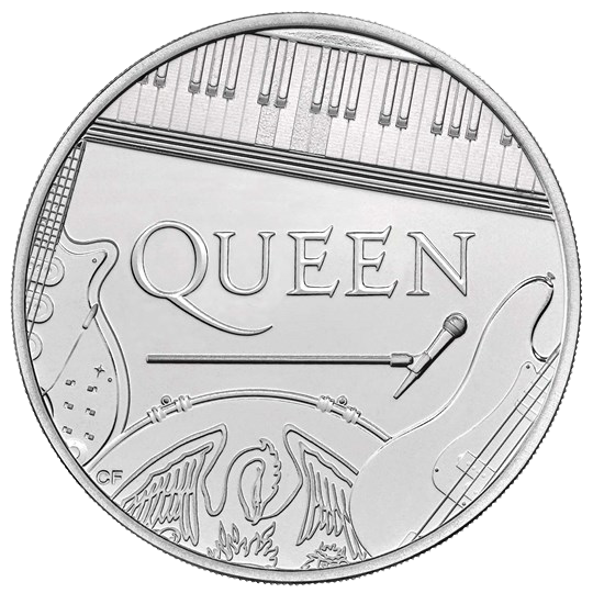 2020 £5 Queen Brilliant UNC Coin - A Kind of Magic