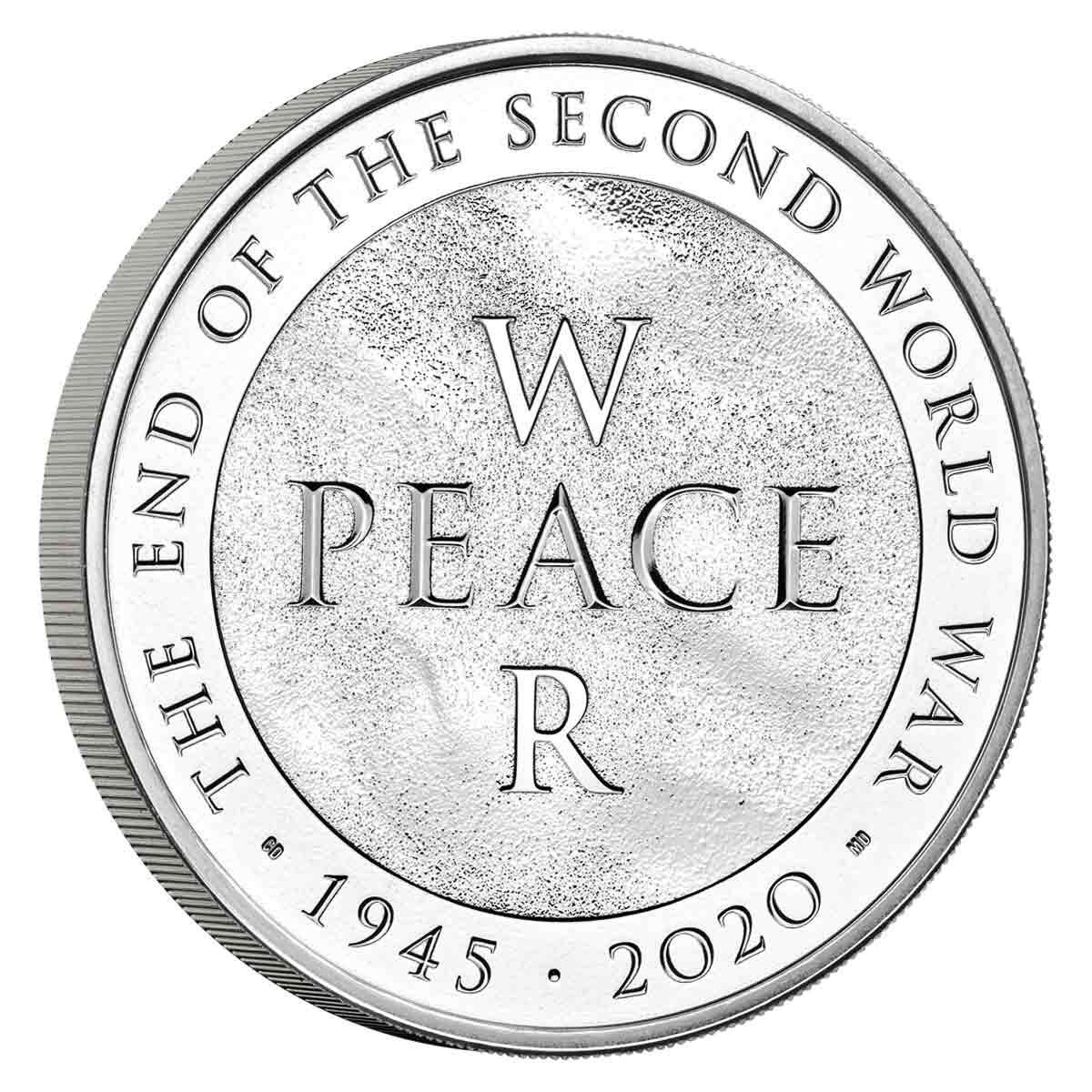 2020 £5 End of World War II BUNC Coin