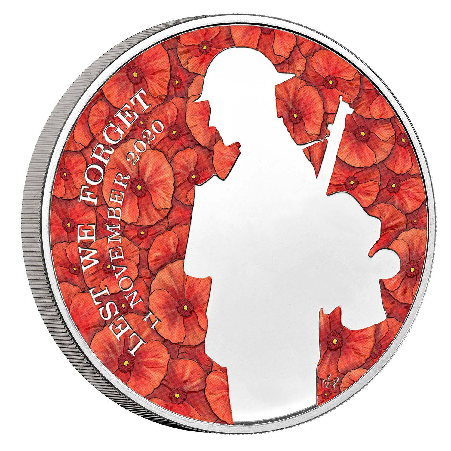 2020 £5 Remembrance Day Brilliant UNC Coin