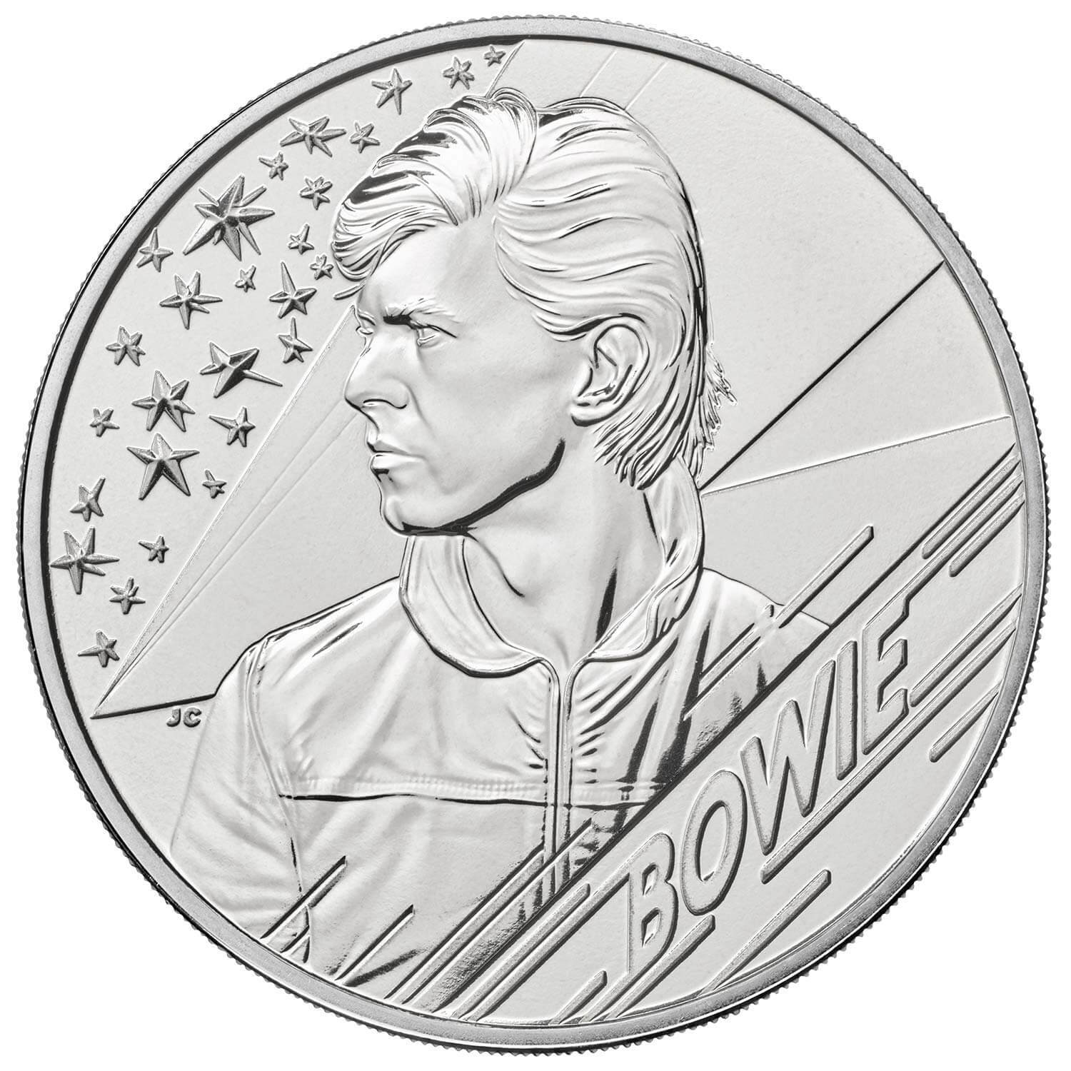 2020 £5 David Bowie Brilliant UNC Coin Edition 4
