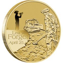 2013 $1 ANZAC Day Lest we Forget