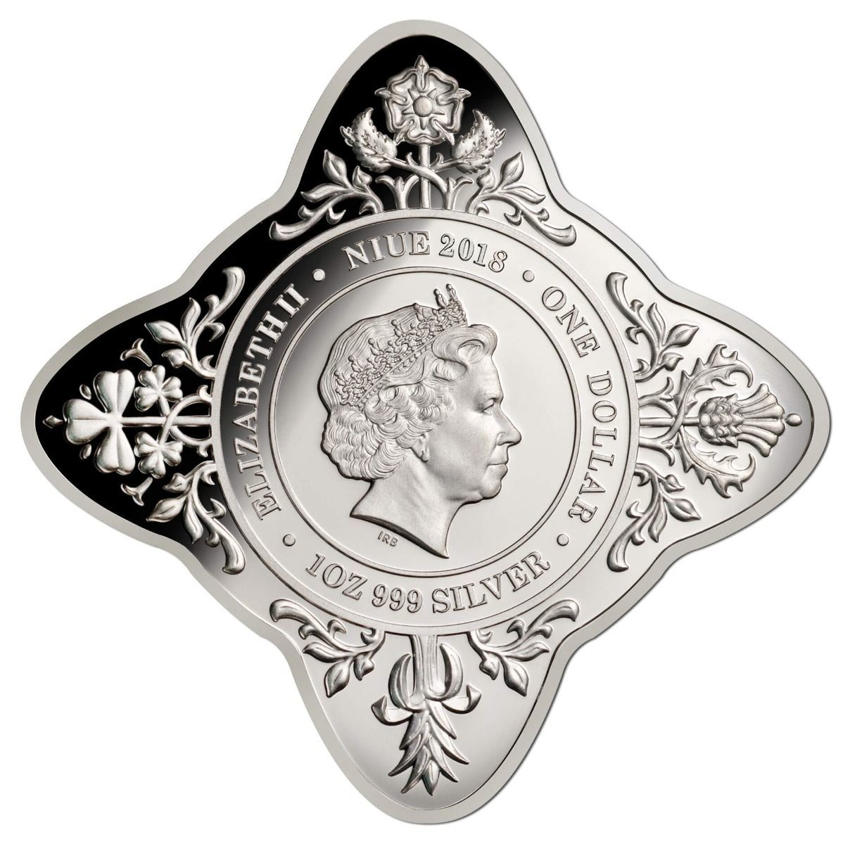 2018 $1 Royal Wedding Star 1oz Silver Proof