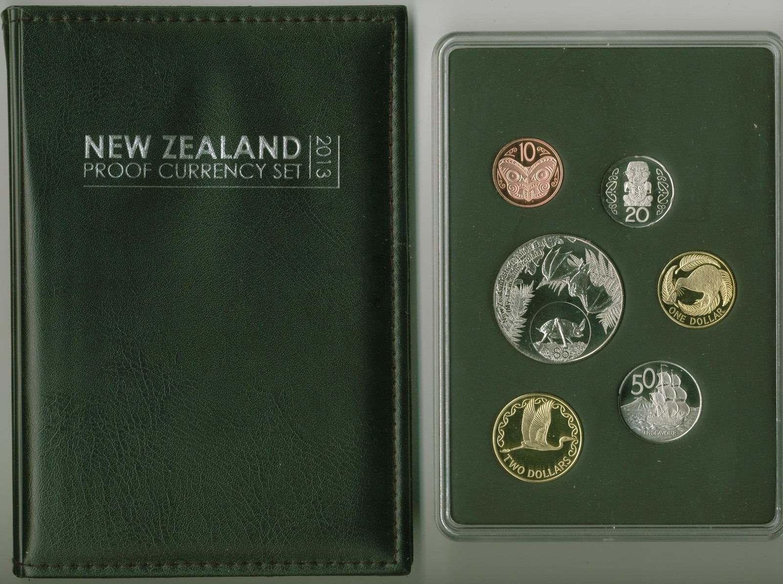 2013 New Zealand Proof Set