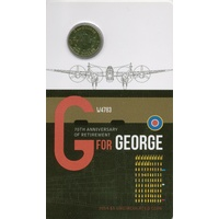 2014 $1 70th Anniversary of Retirement G for George