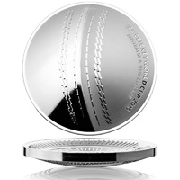 2015 $5 ICC World Cricket Cup Curved 1oz Silver Coin