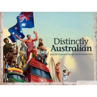 2015 $5 Distinctly Australia Frosted Uncirculated Coin