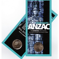 2015 $1 Centenary of ANZAC 'C' Mintmark
