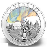 2013 CA$20 A Story of the Northern Lights The Great Hare