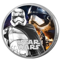 2016 Niue $2 Star Wars - the Force Awakens - Captain Phasma 1oz Silver Proof Coin