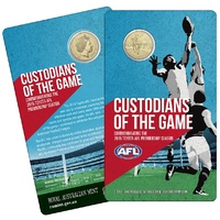 2015 $1 Custodians of the Game AFL 'M' Counterstamp