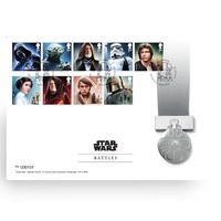 2015 STAR WARS Medallion Cover - Battles