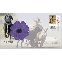 2015 Sarbi Animals in War First Day Cover Animals in War
