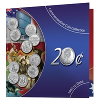 1966-2013 20c Commemorative 10-Coin Pack