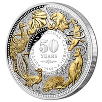 2016 $10 Decimal Changeover 50th Anniversary 5oz Silver Proof