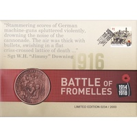 2016 Battle of Fromelles Limited Edition PMC