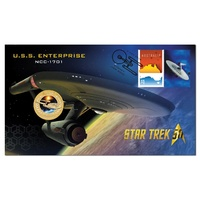 2016 $1 Star Trek - Enterprise-1701 PNC