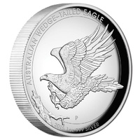 2015 $1 Wedge-Tailed Eagle High Relief 1oz Silver Proof