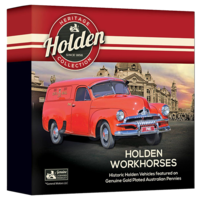 Holden Workhorse Enamel Penny Collection
