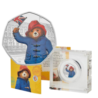 2018 UK50p Paddington at Buckingham Silver Proof