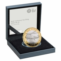 2018 £2 RAF Centenary Sea King Silver Proof