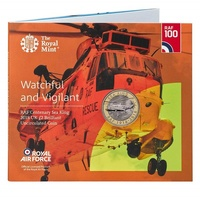 2018 £2 RAF Centenary Sea King Brilliant Unc