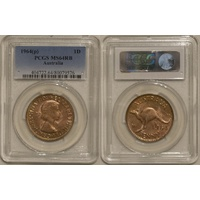 1964 Penny MS64RB