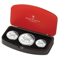 2019 Year of the Pig Silver Proof 3 Coin Set