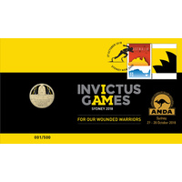 2018 Invictus Games PNC ANDA Overprint