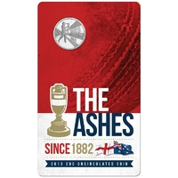 2013 20c The Ashes Unc
