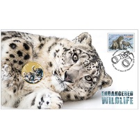 2016 Endangered Wildlife Snow Leopard PNC