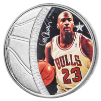 2018 $5 Sid Maurer Jordan 1oz Silver Proof