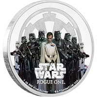 2017 Star Wars Rouge One - The Empire 1oz Silver Proof Coin