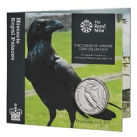 2019 £5 Tower of London Collection The Legend of the Raven BU