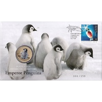 2017 Emperor Penguin PNC Melbourne International Stamp Show Overprint