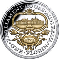 2017 $10 90th Anniversary of the Canberra Florin 5oz Silver Proof