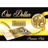 $1 Last Note & First Coin Premium Edition Pack