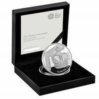 2019 £5 Tower of London - Crown Jewels Silver Proof