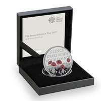 2017 £5 Remembrance Day Silver Proof Coin