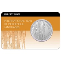 2019 50c International Year of Indigenous Languages UNC