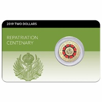 2019 Centenary of Repatriation Coin Pack