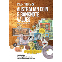 Renniks Australian Coin and Banknote Values 29th Edition